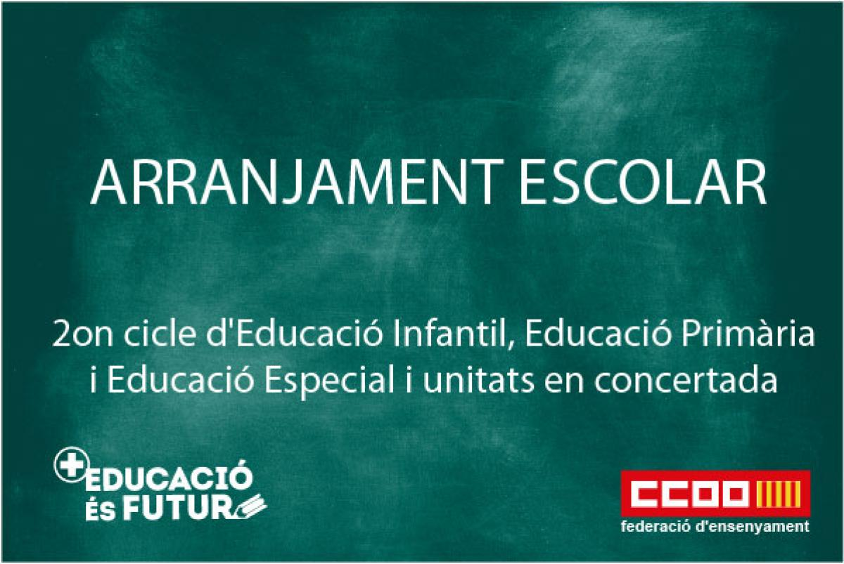 Arranjament escolar